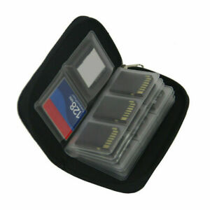 22 Slot Memory Card Storage Case Holder Micro SD TF CF SIM Carrying Pouch Hot