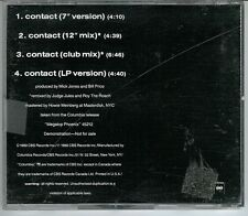 Big Audio Dynamite - Contact 4 mixes - US DJ Cd