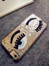iPhone 6 Plus Girl Case, [Slim Cover] [Luxury Chrome Brushed] 3D Eyes Hard Case