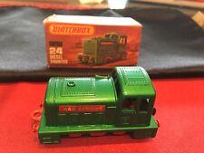 Vintage Matchbox #24 Diesel Shunter w/ Original Box
