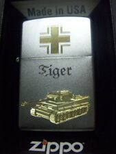 Zippo Sturmfeuerzeug Kampfpanzer Tiger High End Gravur