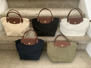 Longchamp Le Pliage small tote COLLECTION-excellent condition