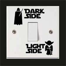 Star Wars Light Side Switch Wall Sticker Kids Room Vinyl Decal Home Decor Mural