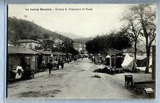 La nuova Messina Riviera S. Francesco di Paola Baraccati PC 1909 Alterocca