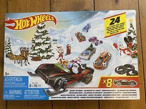Hot Wheels Advent Calendar CHRISTMAS FYN46 XMAS - Brand New Sealed In Box