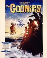 RICHARD DONNER Auto GOONIES Signed 11x17 Movie Poster Photo BAS Beckett COA (c2)