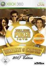 Xbox 360 world series of poker 2 tournament of champions tout NEUF