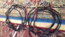Cavo di potenza hi-fi in argento. Hi-fi speaker cable, silver wires.