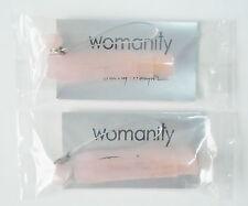 Womanity by Thierry Mugler 1.2 ml .04 oz Women Splash Perfume Sample Vial X 2