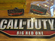 CALL OF DUTY 2  PIN IN BAG AND A STICKER CHECK IT OUT
