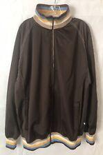 Koman Sport 1974:  Jacket Street Wear Varsity style Mens 2XL Brown Full Zip...