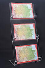 3-Fach Postkartenständer DIN A6,Postkarte,Postkartenhalter,Querformat