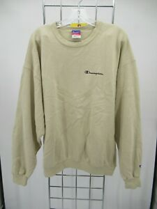 I8222 Champion Crewneck Pull-Over Sweatshirt Size XL