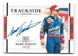 Mark Martin 2020 National Treasures Trackside Signatures AUTO 14/25