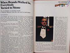 1974 TV  Guide(THE GODFATHER/MARLON BRANDO/JODIE FOSTER/MICHAEL YORK/JAMES MASON