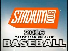 2016 TOPPS STADIUM CLUB BASEBALL YOU PICK 20 CARDS - COMPLETE YOUR SET
