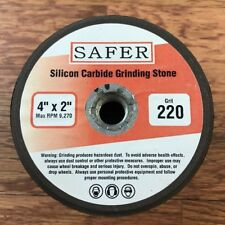 "Silicon Carbide Stone Grinding Cup 4"" x 220 grit"