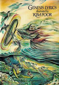 Genesis Lyrics (Illustrated by Kim Poor) GENESIS (Musical group)