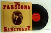 THE PASSIONS sanctuary LP EX/EX, POLS 1066, vinyl, album, uk, 1982, new wave,