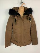 BNWT Zara Ecru Waterproof Raincoat Slightly Padded Size Small 8//10
