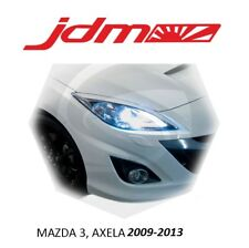 For Mazda 3 Eyebrows Eyelids Headlight Cover 2009-2013 Mazdaspeed 3 Axela 2pcs