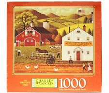 Charles Wysocki's Moving Day In Amish Country 1000 Piece Jigsaw Puzzle MB SEALED