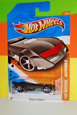 2011 HOT WHEELS TRACK STARS #66 DC Comics - The Batman Batmobile - Matte Black