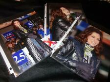 Shania Twain *Three Professional 8x10 Photos*On Stage In Long Coat! Great Shots!