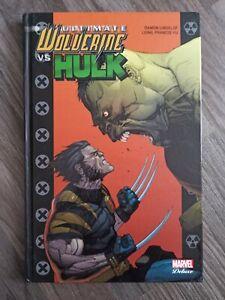 Comics Wolverine vs Hulk ultimate Marvel Deluxe panini rare X-Men