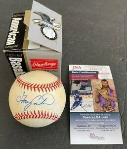 GARY CARTER HAND SIGNED AUTOGRAPHED RAWLINGS BASEBALL W/BOX W/JSA COA (MS)