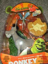 Shrek 2 Donkey Action Figure Hasbro New In Box with kicking action