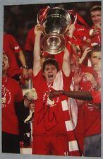 Xabi Alonso signed Liverpool 12x8 (COA)