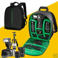 Camera Bag Backpack Waterproof DSLR Case with Carabiner For Canon Sony Nikon New