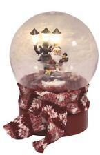 LED Christmas Musical Snow Ball with Santa Figure Inside
