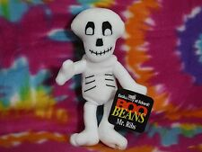 MR RIBS SKELETON SCARY BOO BEANS ECKERD COLLECTIBLE PLUSH STUFFED ANIMAL W/ TAGS