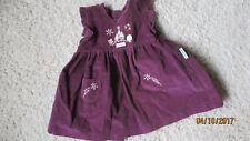 Kleid  Feincord Weinrot Gr. 68-Kleidung Bears Club-