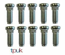 FORD TRANSIT MK6 MK7 WHEEL STUDS M14 X 37 SET OF 10 FRONT SINGLE WHEEL A4424984