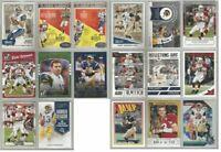 Kurt Warner St Louis Rams Arizona Cardinals 17 card 2016-2018 lot-all different