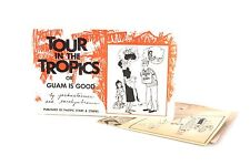 1960 Pacific Stars and Stripes Tour in the Tropics or Guam is Good Cartoon Book