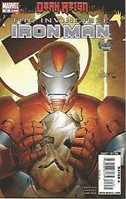 Invincible Iron Man #19 (December 2009) Dark Reign Marvel Comics High Grade