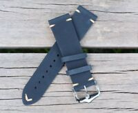 22mm Genuine Leather Watch Band Strap Handmade fits ALL BRANDS Rolex Tudor Sub