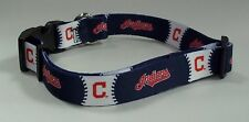 Cleveland Indians X Small 8 - 10 Inch Dog Collar