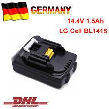 1x BL1415 Batteria Per Makita Batteria 14,4 V 1,5Ah Di Ricambio BL1440B BL1430B