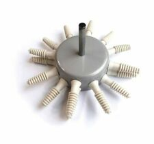Chicken Plucker 16 Plucking Fingers Feather Removal Tool Poultry Plucker