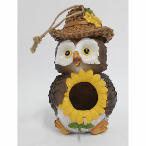 Charming Country Owl Birdhouse