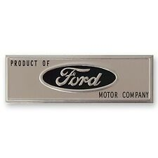 1964 1965 1966 ford mustang door sill scuff tag new