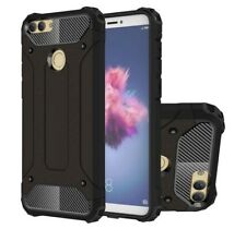 FUNDA HYBRID TOUGH ARMOR (PC+TPU) NEGRA para HUAWEI P SMART