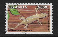 UGANDA. Yvert nº 1329 usado y con defecto en el reverso