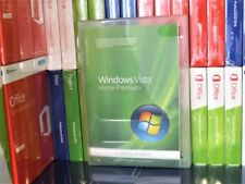 MICROSOFT WINDOWS VISTA HOME PREMIUM (USED)  64 BIT X13-29686 100% GENUINE UK