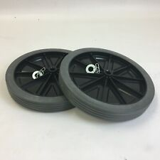 Rubbermaid 9W71-L2 Solid Wheel Kit for 9W73 Mega BRUTE Mobile Waste Collector